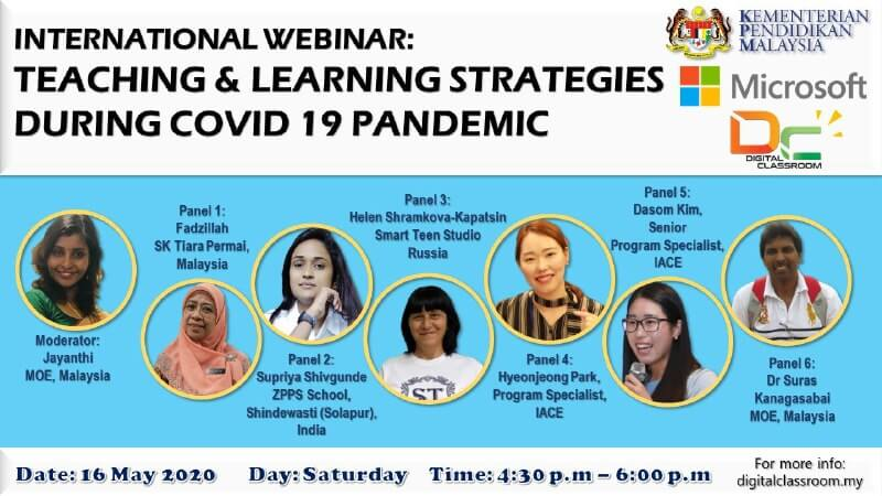 International Webinar: Teaching & Learning Strategies During COVID-19 Pandemic