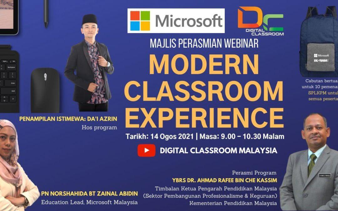 Majlis perasmian program Modern Classroom Experience