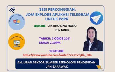 Jom Explore Aplikasi Telegram Untuk PdPR