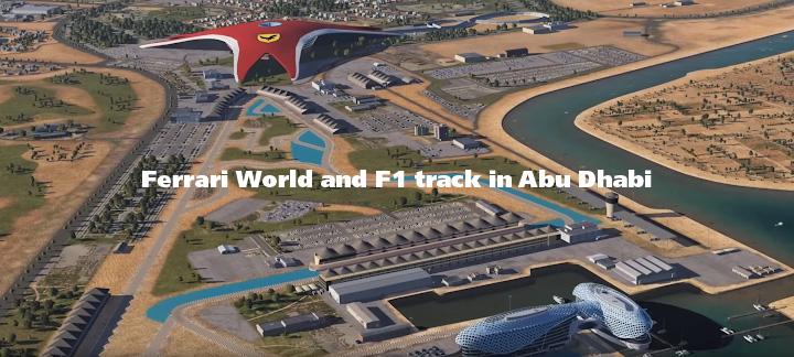 Ferrari World Abu Dhabi 720