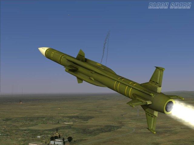 SA-6 missile
