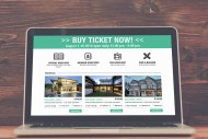 Real Estate website layout