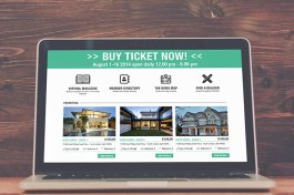 Real Estate website layout