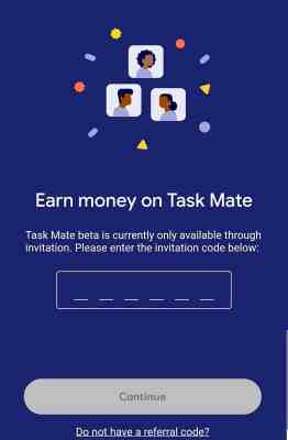 google mate invitation code