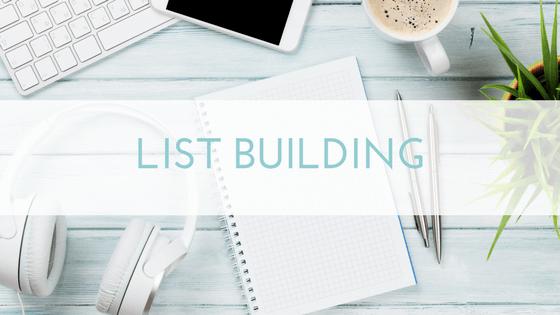 Digital Decluttered List building