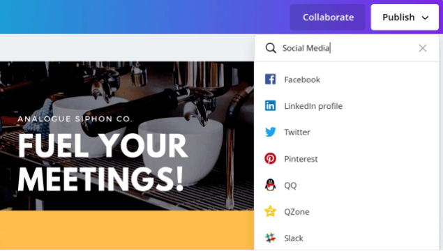 What's New in Canva 2.0: Publish Directly to Social Media