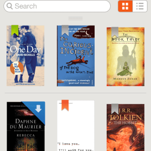 eBooks by Sainsbury's app design