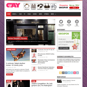 So So Gay - the UK's best online LGBT lifestyle magazine
