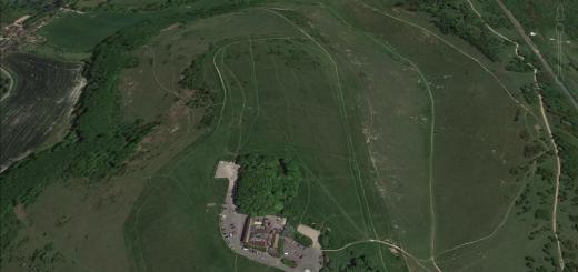 Devil's Dyke Hillfort, Sussex.
