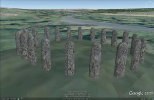 Digital Digging Bluestonehenge model (Henry Rothwell).
