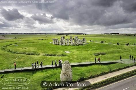 Stonehenge - Visitors. © Adam Stanford.