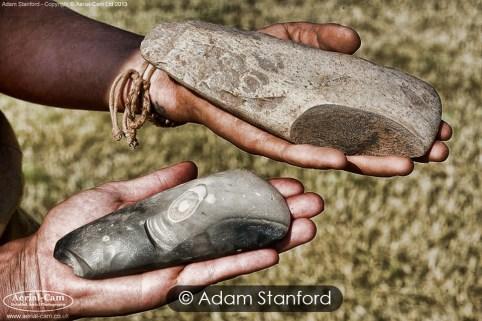 Polished axes, Dorstone, Herefordshire.