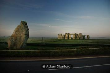 Stonehenge - A cold blue morning. © Adam Stanford.