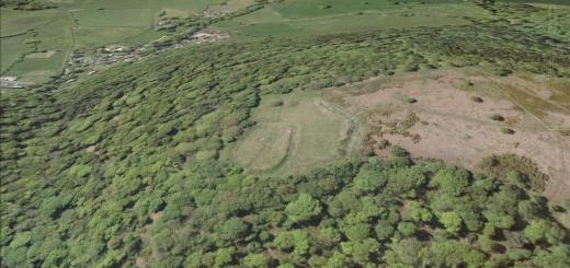 Bury Castle Hillfort, Selworthy Plantation, Selworthy, Somerset