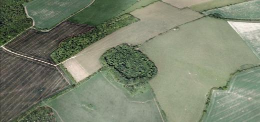 Clearbury Ring Hillfort, Wiltshire