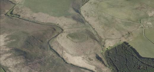 Cotley Castle Hillfort, Wambrook, Chard, Somerset
