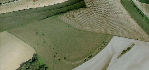 Grovely Castle Hillfort, Wiltshire