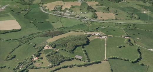 Knapp Farm Hillfort, Whitestaunton, Somerset