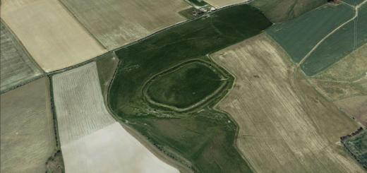 Lidington Castle Hillfort, Wiltshire