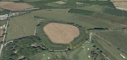 Maesbury Castle Hillfort, Croscombe, Somerset