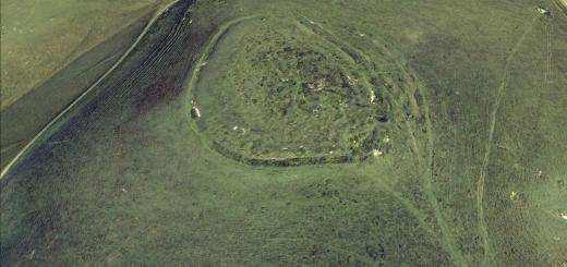 Rybury Camp Hillfort, Wiltshire