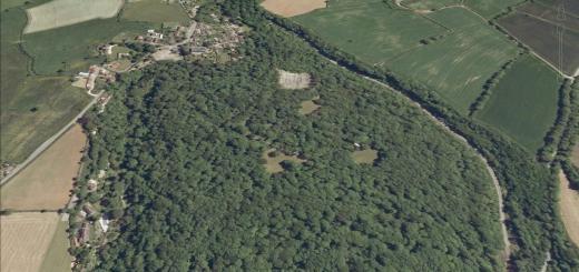 Tedbury Camp Hillfort, Elm, Somerset