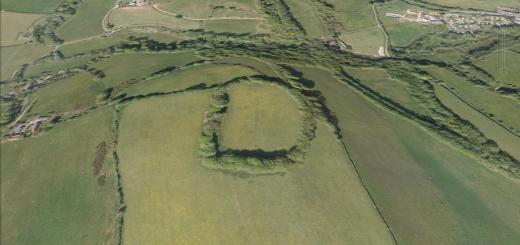 The Castles Hillfort, Bathealton, Somerset