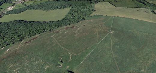 Westbury Camp Hillfort, Rodney Stoke, Somerset