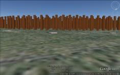 Stanton Drew timber circle on the horizon.