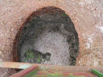 The Fir Tree Shaft from above.