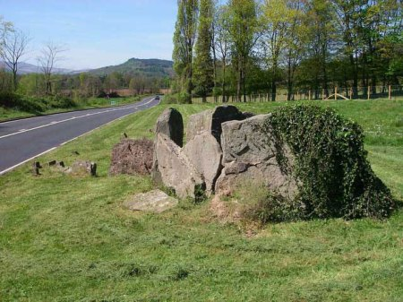 Gwernvale Long Barrow. Image by Alan Bowring.