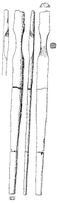 Figure 3: The second specimen of the Holmegaard Bows (Clark, 1963)