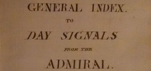 Day Signals from the Admiral.