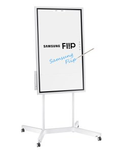 Samsung wm  digital flipchart for business with stand portrait view also rh digitaldisplaystore