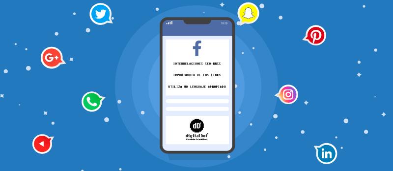 Las redes sociales son importantes para el SEO