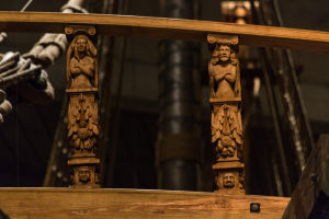 Detail of  Vasa Railing