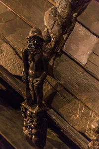 Detail of a Carving on the Vasa