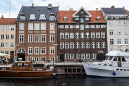 Boats and Residences in Nyhavn