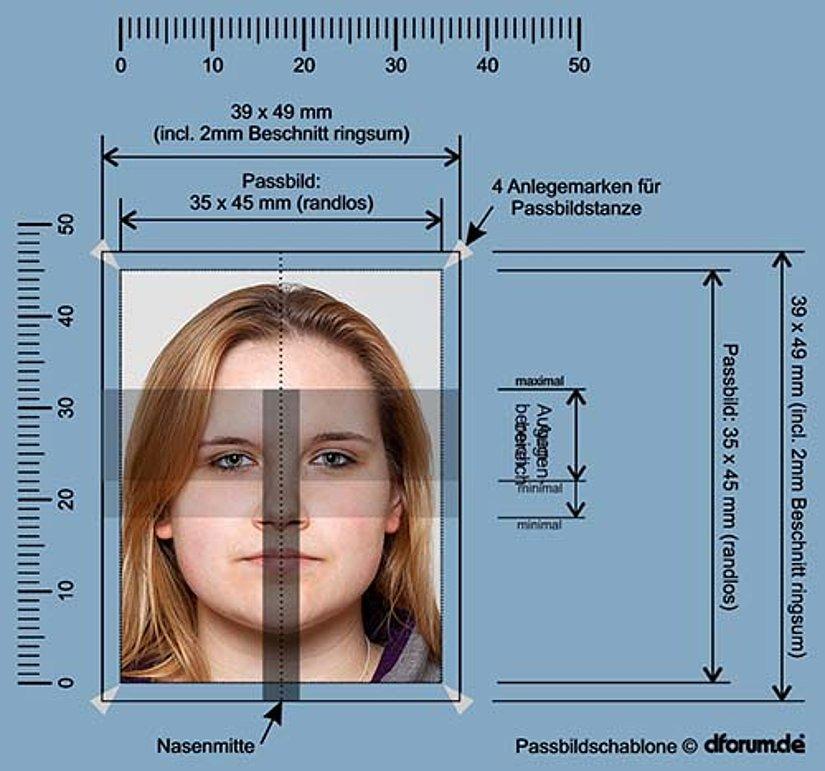 Biometrische Passfotos  Passbilder in Essen Rttenscheid