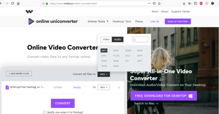 how to convert mp4 to mp3 free download software