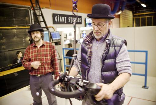 Steven Spielberg und Peter Jackson an der virtuellen Kamera - Sony Pictures