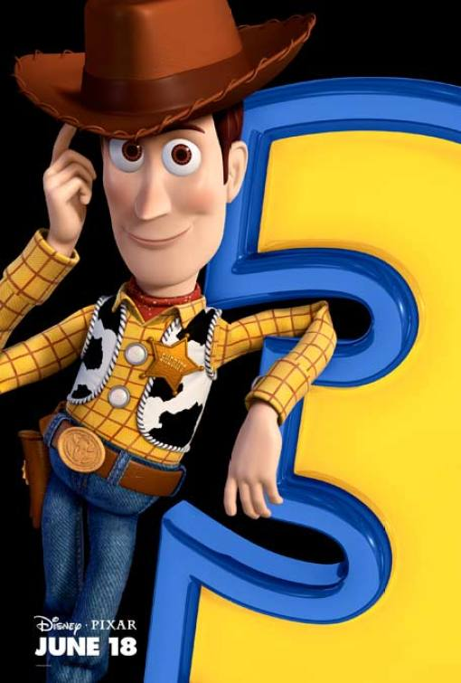 Toy Story 3 - Charakterposter Woody