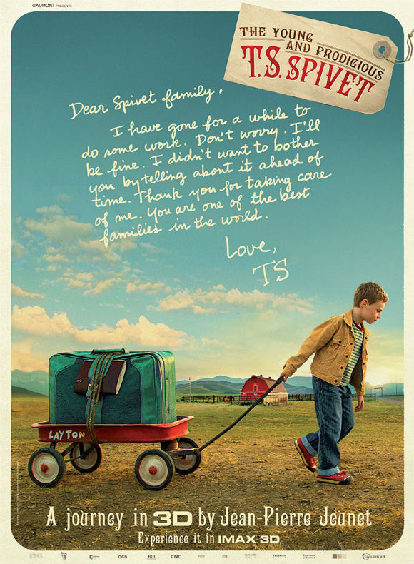 THE YOUNG AND PRODIGIOUS T S SPIVET -IMAX Plakat