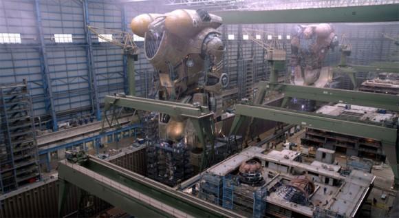 Jaeger- Produktionshalle- Pacific Rim