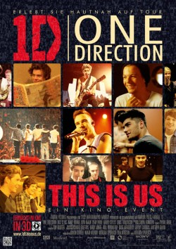 One Direction This is Us - Plakat