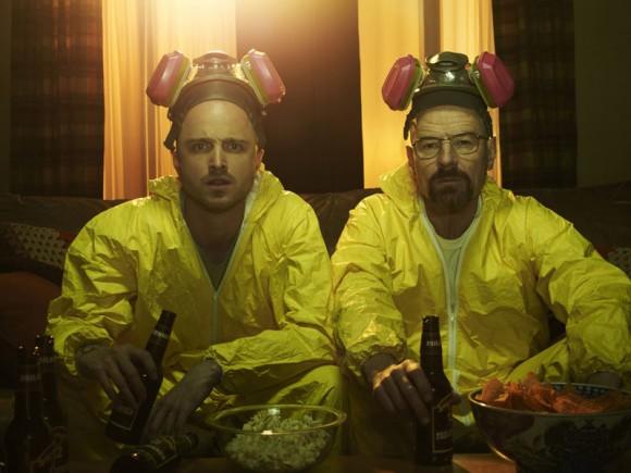 Jesse Pinkman (Aaron Paul) und Walter White (Bryan Cranston)