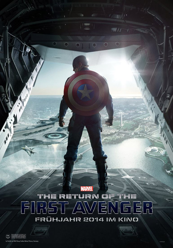 The Return of the First Avenger- Captian America 2 -Plakat