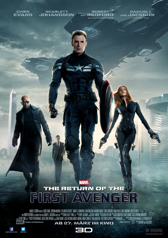 The Return of the first Avenger- Plakat