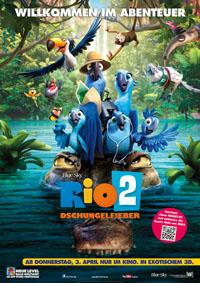 Plakat RIO 2- Dschungelfieber klein