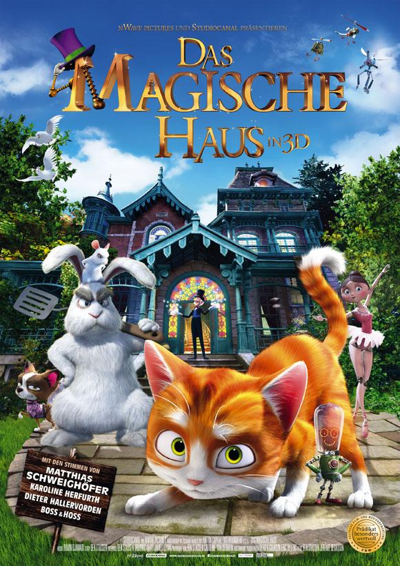Plakat DAS MAGISCHE HAUS